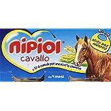 Nipiol - Omogeneizzato, Cavallo e 3% di cereale per una ricetta cremosa, da 4 mesi - 160 g