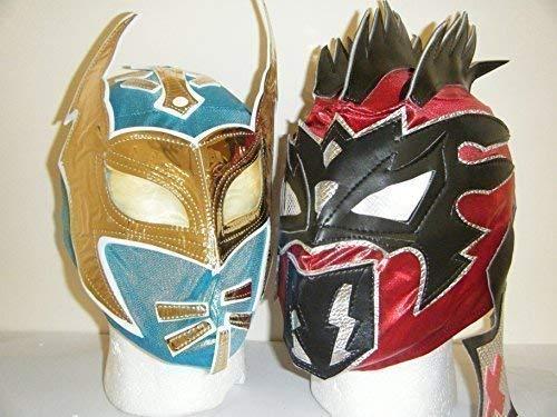 Máscaras de The Nxt Lucha Dragons - Sin Cara & Kalisto para Niños
