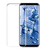Galaxy S8 Plus Schutzfolie, Infreecs Sumsung Galaxy S8 Plus Panzerglas [Vollständige Abdeckung] [9H Kristallklar ][Anti-Kratz Blasenfrein] Gehärtetem Glasfolie Für Samsung Galaxy S8 Plus, Transparent [1 Stück]