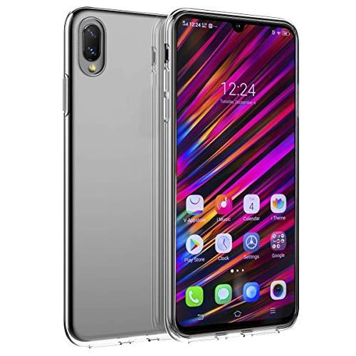 PaceBid Vivo V11 / V11 Pro Hülle Case, Crystal Clear Transparent Handyhülle Cover Soft Premium TPU Durchsichtige Schutzhülle für Vivo V11 / V11 Pro