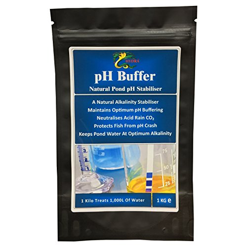 Maintain your koi pond ph levels by hydra ph buffer 1kg for Koi pond kh level