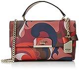 Guess Hwpp6683210, Women's Top-Handle Bag, Multicolore (Paisley), 13x23.5x31 cm (W ...