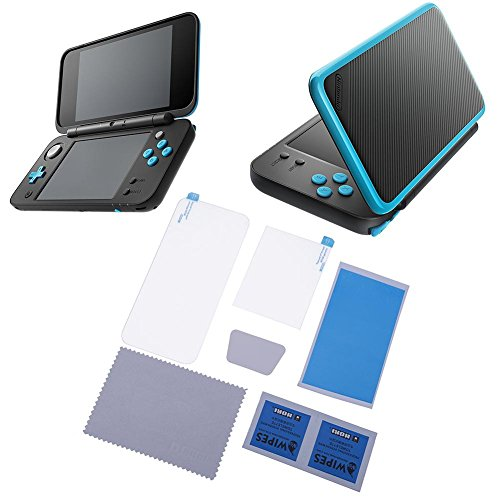 alloet gehärtetem Glas LCD UNTEN Screen Guard Cover Film für Nintendo New 2DS XL Lcd Guard Film