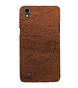For LG X Power :: LG X Power K220DS K220 wall pattern ( wall pattern, pattern, wall, brown wall ) Printed Designer Back Case Cover By CHAPLOOS