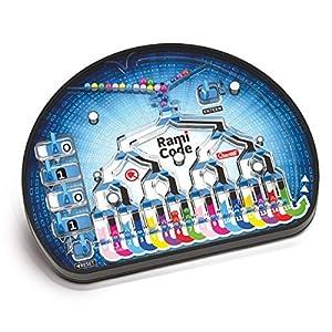 quercetti-Ramas Code Juego para el Aprender EL cálculo bonario divertendosi, Color Bromista, 1015