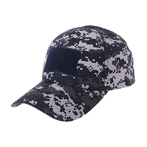 Lamdoo Military Tactical Cap Camo Armee Baseball Hat Patch Digital Desert SWAT CP Kappen 55cm (21.65in) ~ 60cm (23.62in) City Digital