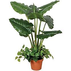 Planta artificial taro 100 cm altura, Catral 74010015