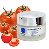 *FLASH SALE* Zaffiro Organica ◦ Certified BEST ANTI AGING Organic Instant Lifting Face Cream with pure VITAMIN C + E ◦ Anti-Wrinkles Moisturiser & Natural Collagen Booster ◦ SKIN FOOD for a Youthful, Tightened & Healthy Skin for Day & Night ◦ Firming and Soothing Facial Cream ◦ VEGAN Skin Care Treatment for fine lines ◦ With Pure Extract of Tomato, Sweet Almond, Castor and Macadamia Oil ◦ For Men & Women ◦ 50ml