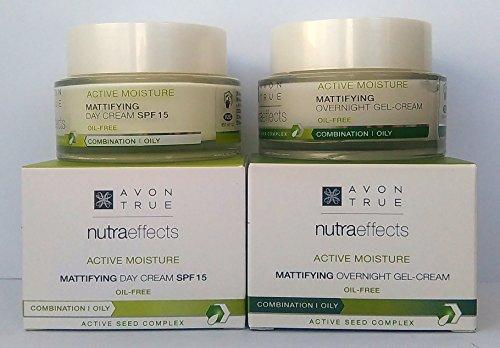 AVON True Nutraeffects Mattifying : Tagescreme LSF 15 + Nachtcreme SET ! - Avon Gel Feuchtigkeitscreme