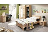 Jugendzimmer Combino Kinderzimmer Komplett verschiedene Ausführungen (Jugendzimmer Combino 4tlg. mit 140er Bett)