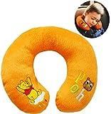 alles-meine.de GmbH Nackenkissen / Nackenrolle -  Disney Winnie The Pooh  - Kissen für Auto / Ki..