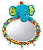 Bright Starts 8817 See & Play Auto Mirror, farbiger Spiegel mit gewölbter Oberfläche für das Auto, mit drei zusätzlichen Schlaufen