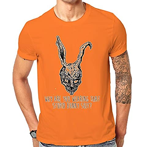 Donnie Darko Why Are You Wearing That Stupid Bunny Suit T-Shirt Men's Classic T-Shirt XX-Large