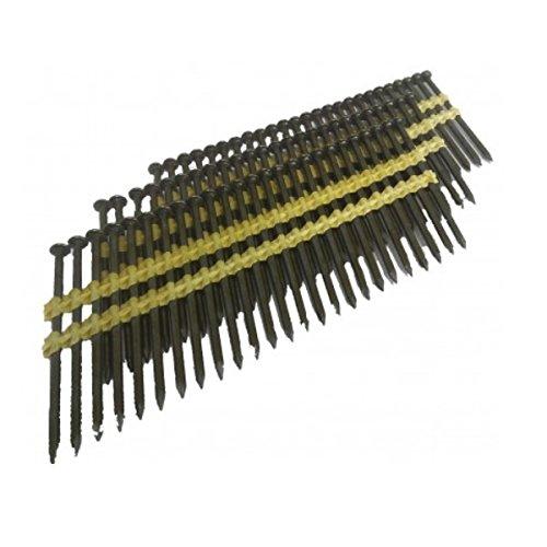 Mecafer – Lot de 500 clous de 75mm à tête pleine ronde