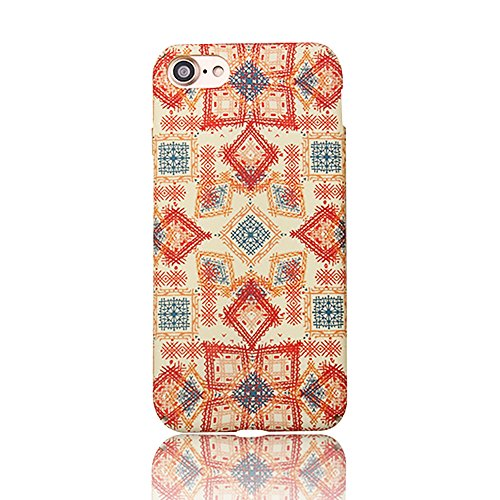 Back Cover per Apple iPhone 5G/5s/SE 4.0, CLTPY Retrò Bellissimo Vento Nazionale Flower Dipinto Serie Case Ultra Fine Copertura di Hard PC Plastic Protezione per iPhone 5G,iPhone 5s,iPhone SE + 1x St Quadrilatero