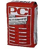 PCI FT KLEBEMÖRTEL Fliesenkleber 25 kg Sack - Kleberbettdicke 1 bis 5 mm - Klebt Steingut- und Steinzeugbeläge - Auch für Schwimmbecken und Kühlräume geeignet