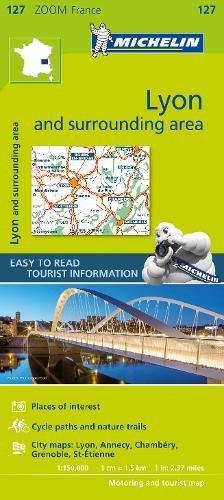 Lyon & surrounding areas - Zoom Map 127