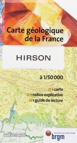 Carte géologique : Hirson