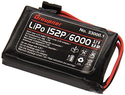 Graupner SJ 33000.1 - Senderakku Flach, Li 1SxP/6000 3.7 V TX