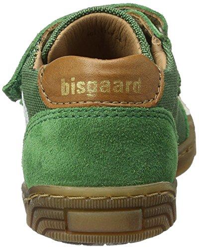 Bisgaard - Klettschuhe, Scarpe da ginnastica Unisex – Bambini Grün (1019 Green)