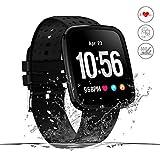 Movaty Fitness Tracker HR Smartwatch da Polso con Cardiofrequenzimetro Contapassi,Contacalorie...