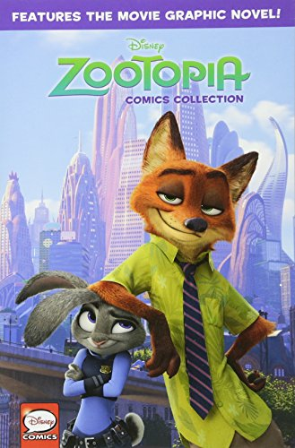 Disney Zootopia Comics Collection Cover Image
