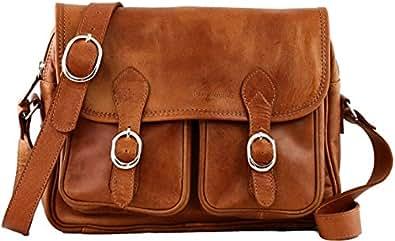PAUL MARIUS sac bandoulière en cuir souple besace pour femme LE ROUEN