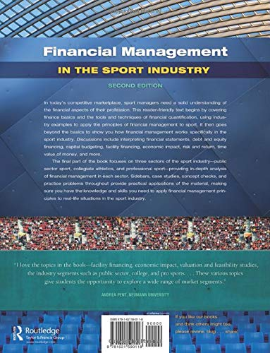 Zoom IMG-1 financial management in the sport