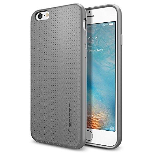 Spigen iPhone 6S Hülle, [Liquid Air] Soft Capsule [Grau] Luftpolster-Technologie Handyhülle - Soft Flex Premium-TPU Schutzhülle für iPhone 6/6S Case, iPhone 6/6S Cover - Gray (SGP11752)