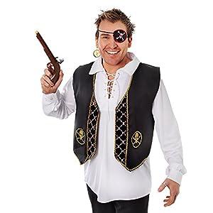 Pirate Waistcoat (Skull Band) (disfraz)