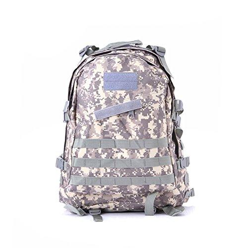 Lokep esterno resistente e espandibile 40l 3d militare zaino tattico molle zaino tattico, per escursioni caccia campeggio viaggio trekking scuola, color1, m