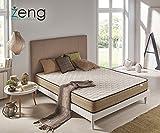 Colchón Visco Luxury Bamboo Confort +/- 21cm de altura (90_x_190_cm)