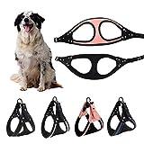 Danigrefinb Reflektierendes Hundegeschirr für kleine Hunde, mit Strass-Steinen, verstellbar