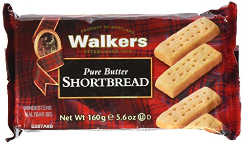 Walkers Shortbread Shortbread Fingers 160g, 6er Pack (6 x 160 g)