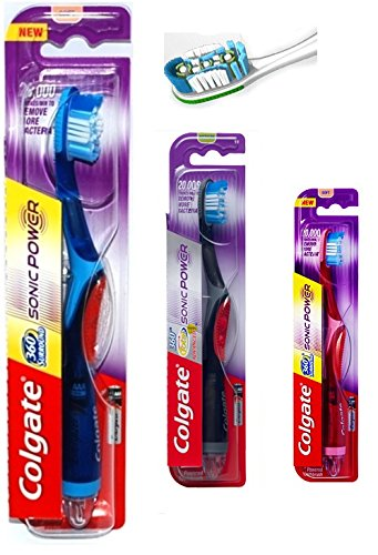 Colgate 360 Surround Total Advanced Sonic Power Toothbrush Medium