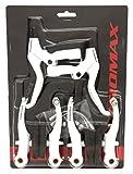 01110101 Promax Fahrrad V-Brake Bremsen-Set Bremse Weiß (Weiß)