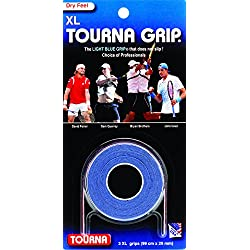 TOURNA Grip XL Overgrip de Tenis, Azul