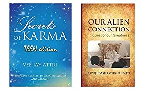 KARMA Series Combo - Secrets of Karma Teen Edition [Paperback] & Our Alien Connection [Hardcover] - Pack of 2 Books