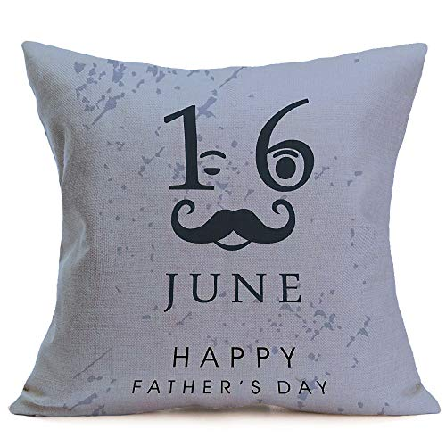 Beonzale Happy Father Day Schlafsofa Dekoration Festival Kissenbezug Kissenbezug