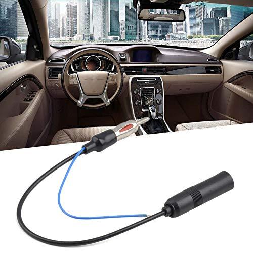 Yaoaomon 12V Auto FM/AM Stereo Radio Inline Antenne Booster Signal Amp Verstärker schwarz Am Stereo-antenne