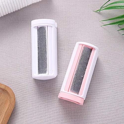 ZJHYSDQ 2 Stücke Multifunktionale Tragbare Kleidung Flusenentferner Pinsel Fussel Haarentfernung Reinigungsbürste Mantel Anzug Reinigungswerkzeuge