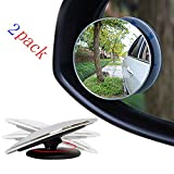 Myhonour Auto Rückspiegel 360 Grad Rotation Verstellbar Rückspiegel Toter-Winkel-Spiegel...