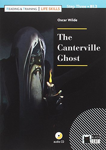 THE CANTERVILLE GHOST+CD LIFE SKILLS (Black Cat. reading And Training)