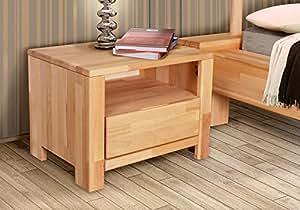 nako beistelltisch nachttisch boston buche massiv ge lt k che haushalt. Black Bedroom Furniture Sets. Home Design Ideas