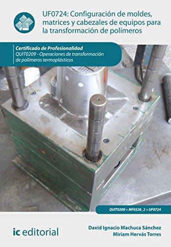 Configuración de moldes, matrices y cabezales de equipos para la transformación de polímeros. QUIT0209 por David Ignacio Machuca Sánchez
