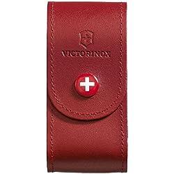 Victorinox Etui cuir pour Couteau Suisse, rouge