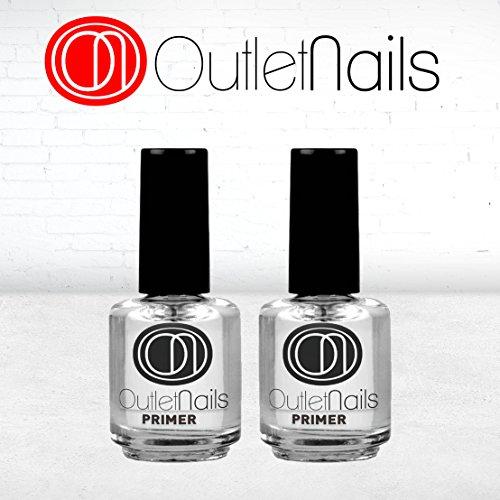 Outlet Nails 2 Primer da 15ml / senza acidi, ideale per le unghie, French Manicure