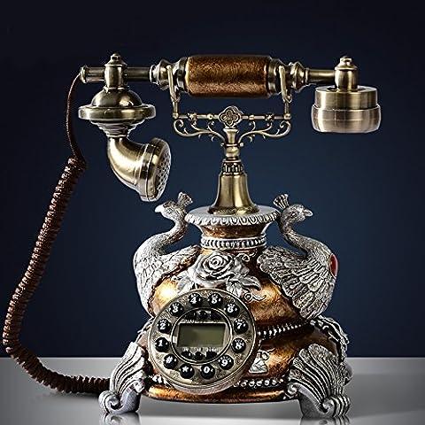 SJMM Téléphone, vintage, antique, salle de séjour, la téléphonie fixe,D