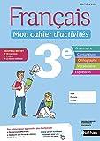 Français - Mon cahier d'activités - 3e