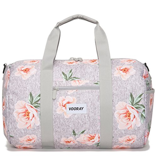 vooray-roadie-23l-small-gym-duffle-bag-rose-gray